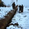 В Шарыпово для устранения коммунальной аварии снесли торговые павильоны