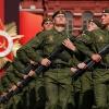В центре Красноярска репетируют парад