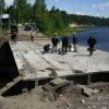 Мост под Красноярском закроют на лето