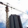 В Красноярске упал башенный кран