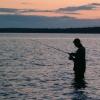 В Енисейске ищут тело утонувшего рыбака