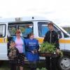 Многодетные семьи Шарыповского района получили в подарок рассаду