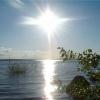 Озёра Хакасии  и юга края прогреются к началу июля