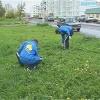 В Назарово очистили от мусора берега Чулыма