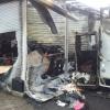 В столице Хакасии подожгли павильоны на китайском рынке