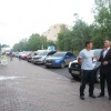 В Назарово проверили качество новых остановочных павильонов