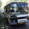 В столице Хакасии пассажирский автобус  попал в аварию