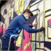 Советский район разрисуют граффити