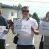 Красноярцы в выходные устроили пикет