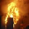 В Назаровском районе сгорели надворные постройки