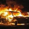 В Красноярске подожгли автомобиль