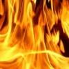 В Назаровском районе подожгли дом