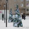 В Назарово замечено проявление вандализма