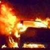 Неизвестные подожгли автомобиль в Назарово