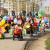 В Абакане прошел Парад колясок