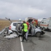Ремни безопасности спасли от тяжелых травм участников ДТП в Хакасии