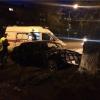 В Красноярске в ДТП пострадал водитель и пешеход