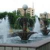 В Абакане запустили фонтаны
