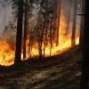 В Хакасии в труднодоступной местности горит тайга