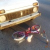 В Абакане пятилетнюю велосипедистку сбила машина