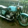 В Хакасии мотоциклист разбился, врезавшись в забор