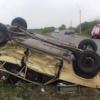 В Абакане пьяный водитель устроил лобовое столкновение