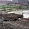 В Хакасии восстановливают мост, размытый дождём