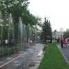 В Красноярске с ограждений Центрального парка убрали всю незаконную рекламу