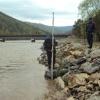 В подтопленном посёлке  Хакасии проводятся аварийно-восстановительные работы на дамбе