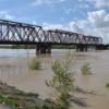 В Абакане уровень воды в реке продолжает расти