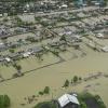 В Хакасии уровень воды в районе подтопленной Абазы начал падать