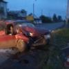 В Абакане пьяный водитель налетел на электроопору