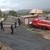 Хакасские пожарные откачивают воду из подтопленных районов