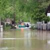 Абаканские спасатели очищают освободившуюся от воды территорию города