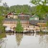 Затопленные дачники Абакана стали получать гуманитарную помощь