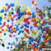 В Красноярске полицейские вместе с детьми запустили в небо шары в память о погибших в годы войны