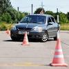 В Черногорске будущие водители обучились экстренному торможению
