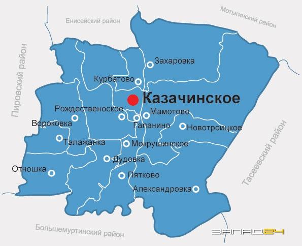 погода красноярский край казачинский район