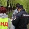 В Ачинске полицейские и дружиннки патрулируют улицы города