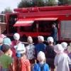 В Назарово детям рассказали о работе пожарных
