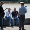 Красноярцы  позволяют себе лишнее в общественных местах