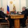 Врио губернатора края сегодня общался с Президентом России