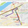 В связи с ремонтными работами в Красноярске изменится схема движения транспорта
