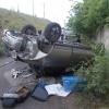В Абакане водитель не справился с управлением и вылетел с моста, погиб пешеход