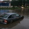 В Красноярске в результате ливня вновь затопило улицы