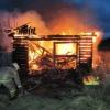В Алтайском районе в сгоревшей летней кухне обнаружено тело мужчины