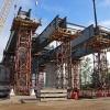Для красноярского четвёртого моста построены опоры и эстакада