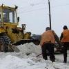 В Назарово из-за снегопадов введён круглосуточный мониторинг дорожной обстановки