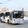 ДТП с участием 80-го автобуса и автомобиля в Красноярске образовало пробку в 1,5 км