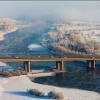 В Красноярске утренние ДТП парализовали правый берег